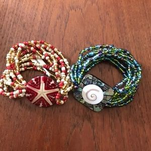 4/$25🧡 beaded bracelets